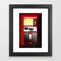 ROCKOLA Framed Art Print