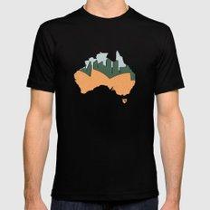 Sydney - Australia Black Mens Fitted Tee SMALL