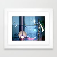 Huelek Framed Art Print