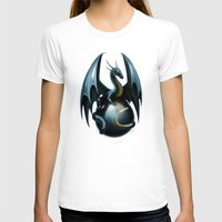 dragon T-shirts featuring dragon by Antracit
