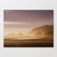 As Dusk Falls Canvas Print