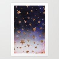 Star Clouds Art Print