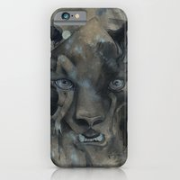 iPhone & iPod Case featuring The Black Leopard by Sasita Samarnpharb