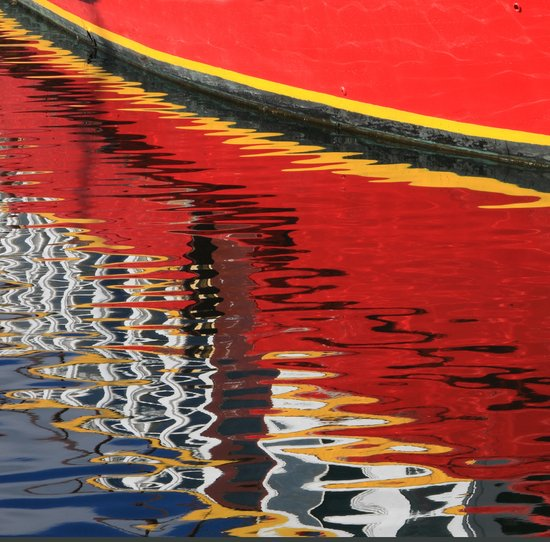 Hobart reflections Art Print