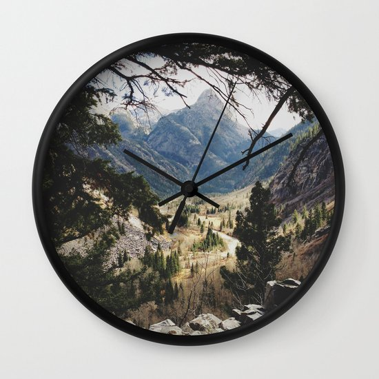 San Juan Forest Wall Clock
