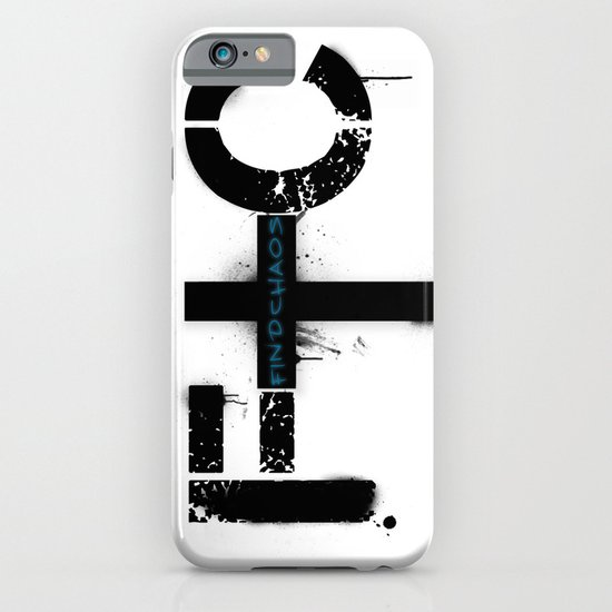 FindChaos - Logo iPhone & iPod Case