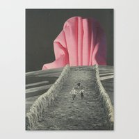 Big Pink Canvas Print