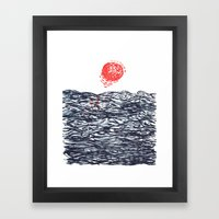 Sea Picture No. 5 Framed Art Print