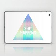 Shit Happens Laptop & iPad Skin