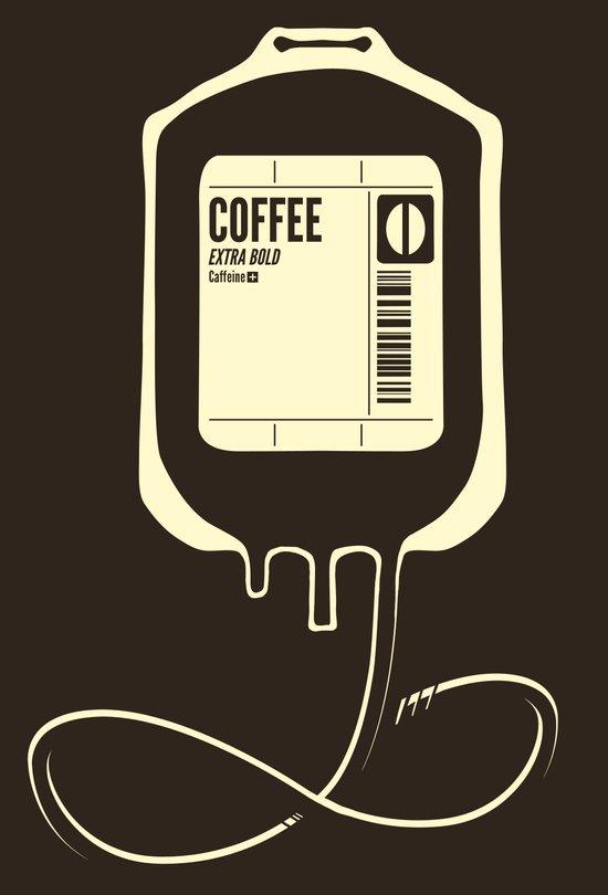 Coffee Transfusion Canvas Print