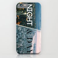 iPhone & iPod Case featuring NIGHT & DAY by R.Bongiovani
