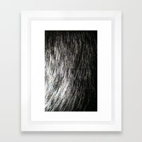 Fur Framed Art Print