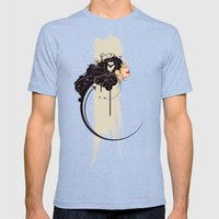 The Daydreamer Mens Fitted Tee Tri-Blue SMALL