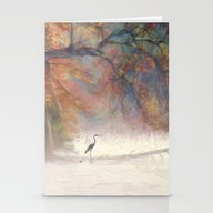 Morning On The Lake Stationery Cards