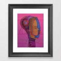 Biometric Signatureactio… Framed Art Print