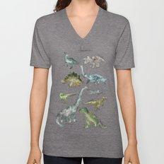 Dinosaurs Unisex V-Neck