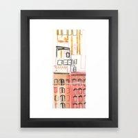 N-Y-SEA Framed Art Print