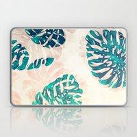 CALI TROPICAL LEAVES Laptop & iPad Skin
