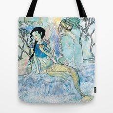 Pale Siren Tote Bag