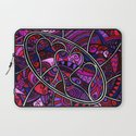 When hearts collide Laptop Sleeve