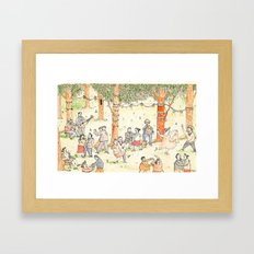 Dancing Framed Art Print