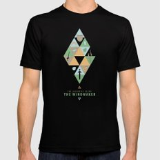 The Legend of Zelda: The Windwaker SMALL Mens Fitted Tee Black