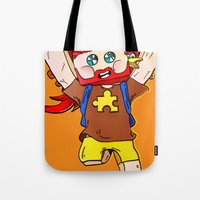 Getting jiggy with it - Minecraft Avatar Tote Bag