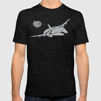 Centenium Falcon Mens Fitted Tee Tri-Black SMALL