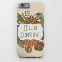 iPhone & iPod Case featuring Hello Sunshine by Valentina Harper