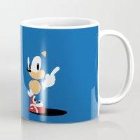 Minimal Sonic Mug