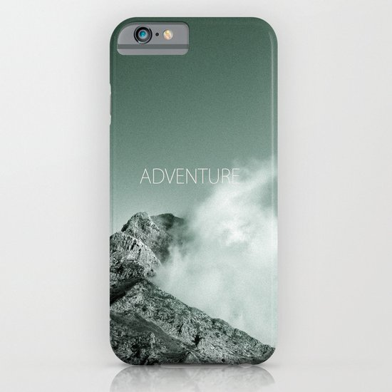 Adventure at the mountain iPhone & iPod Case
