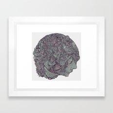 In Mind Head Framed Art Print