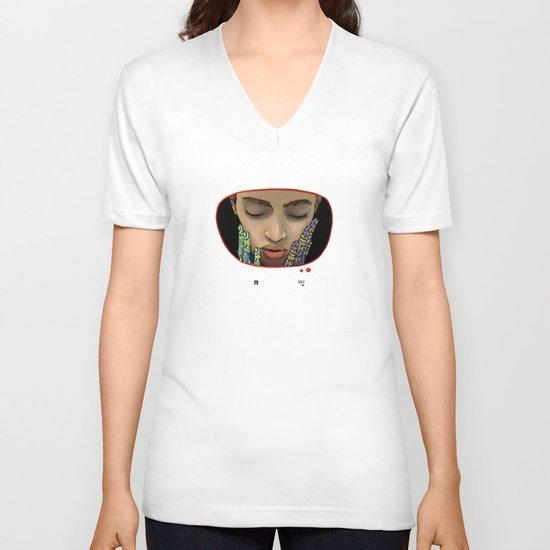 The Anxious Sleep V-neck T-shirt