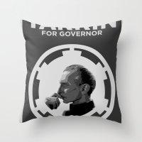 Tarkin For Governor Throw Pillow