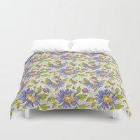 Watercolor Pattern Duvet Cover