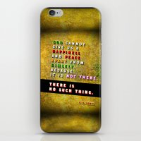 No Such Thing iPhone & iPod Skin