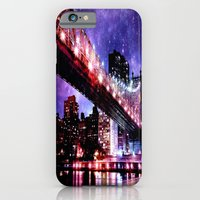 new york iPhone & iPod Cases featuring New York New York by WhimsyRomance&Fun