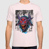 CHUPACABRA Mens Fitted Tee Light Pink SMALL
