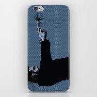 Kittappa Series - Blue iPhone & iPod Skin