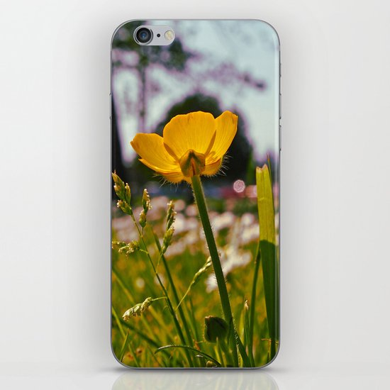 Buttercup beauty iPhone & iPod Skin