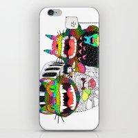 Totoro Fan Art (cat Bus)… iPhone & iPod Skin