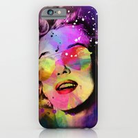 iPhone & iPod Case featuring Marilyn  by mark ashkenazi