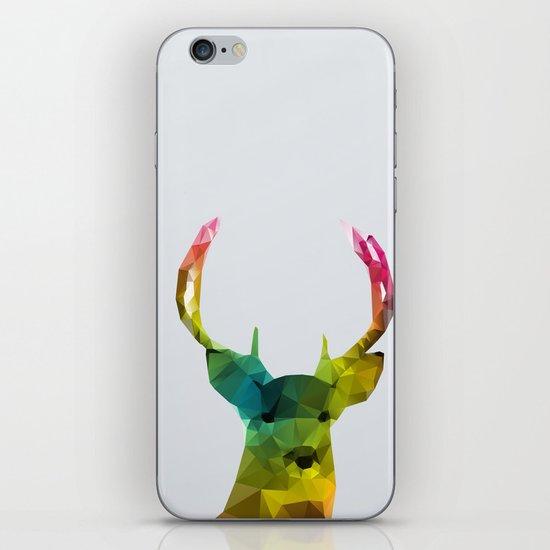 Glass Animal - Deer head iPhone & iPod Skin