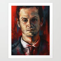 James Moriarty Art Print