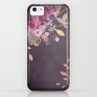 FLOWERS & GOLD  iPhone 5c Slim Case