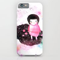 iPhone & iPod Case featuring Girl in Cloud by munieca
