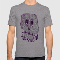 Bad Trips Mens Fitted Tee Athletic Grey SMALL