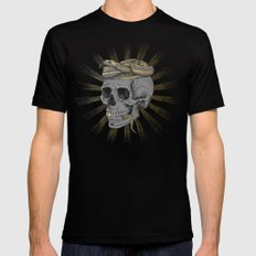 stay gold SMALL Mens Fitted Tee Black