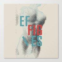 Effigies Canvas Print