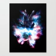 Canvas Print featuring Drop by Nicebleed